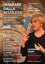 Imparare dalla bellezza - DVD: Quattro grandi cicli artistici raccontati da Mariella Carlotti. Mariella Carlotti   DVD   Itacalibri